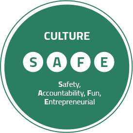 Career value block in culture safe image